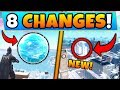 Fortnite Update: NEW SPHERE EVENT + TILTED TOWERS CHANGE! - 8 Secret CHANGES in Battle Royale!
