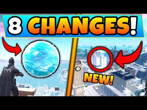 Fortnite Update: NEW SPHERE EVENT + TILTED TOWERS CHANGE! - 8 Secret CHANGES in Battle Royale! thumbnail