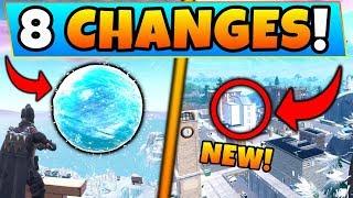 Atualização do Fortnite: novo evento SPHERE + Torres inclinadas mudam! -8 mudanças secretas no Battle Royale!