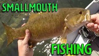 Smallmouth Fishing: Lake Owen