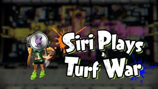 SIRI PLAYS A TURF WAR