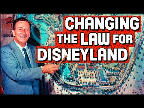 Changing the Law for Disneyland