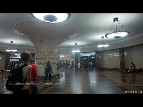 Немного метро Курская и Курского вокзала // 5 июля 2018
