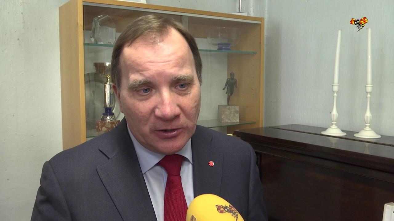 Stefan Löfven om pensionärsskatten - YouTube