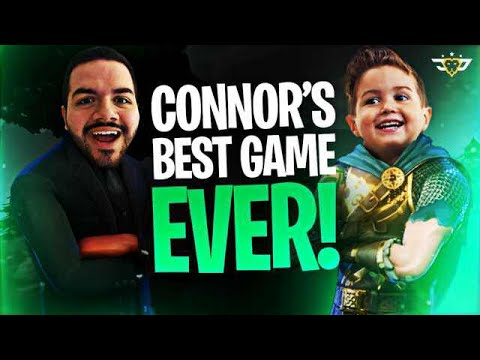 CONNOR'S BEST GAME EVER! - WE ARE GOING PRO! (Fortnite: Battle Royale)