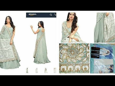 amazon-gown-unboxing|affordable-anarkali|amazon-clothing|party-wear-unboxing|online-shoppin-review