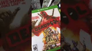 Xbox One Game Collection 2018 Part 1