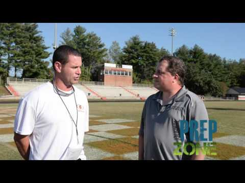Davie County High School coach Tim Devericks