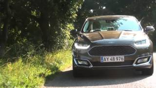 Test - Ford Mondeo Vignale - konkurrerende luksus