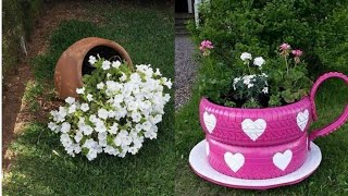 The most beautiful indoor mini pot flower decore ideas/creative for home decoration