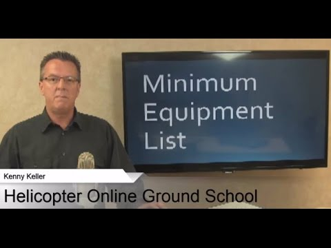 Minimum Equipment List, Everybody Struggles With This One