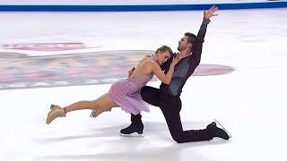 Мэдисон Хаббел Захари Донохью Произвольный танец Танцы на льду Лас Вегас Гран при по фигурному