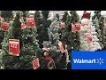 CHRISTMAS DECORATIONS AT WALMART CHRISTMAS TREES DECOR SHOP WITH ME SHOPPING STORE WALK THROUGH 4K