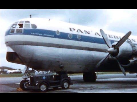 "Pan American Boeing 377 Stratocruiser - ""Bermuda & New York"" - 1959"