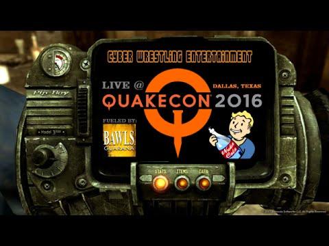 CWE: Quakecon 2016 - Night 2: The Champions [8/5/16]