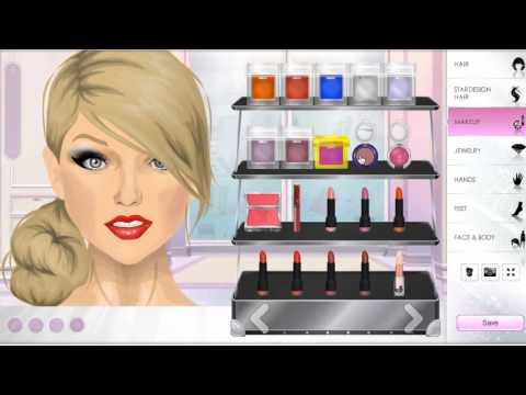Stardoll Tutorial - Taylor Swift Makeup by Lovelifegirl