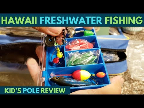 Hawaii Freshwater-Name That Fish!?(Plusinno Kids Fishing Pole Review)