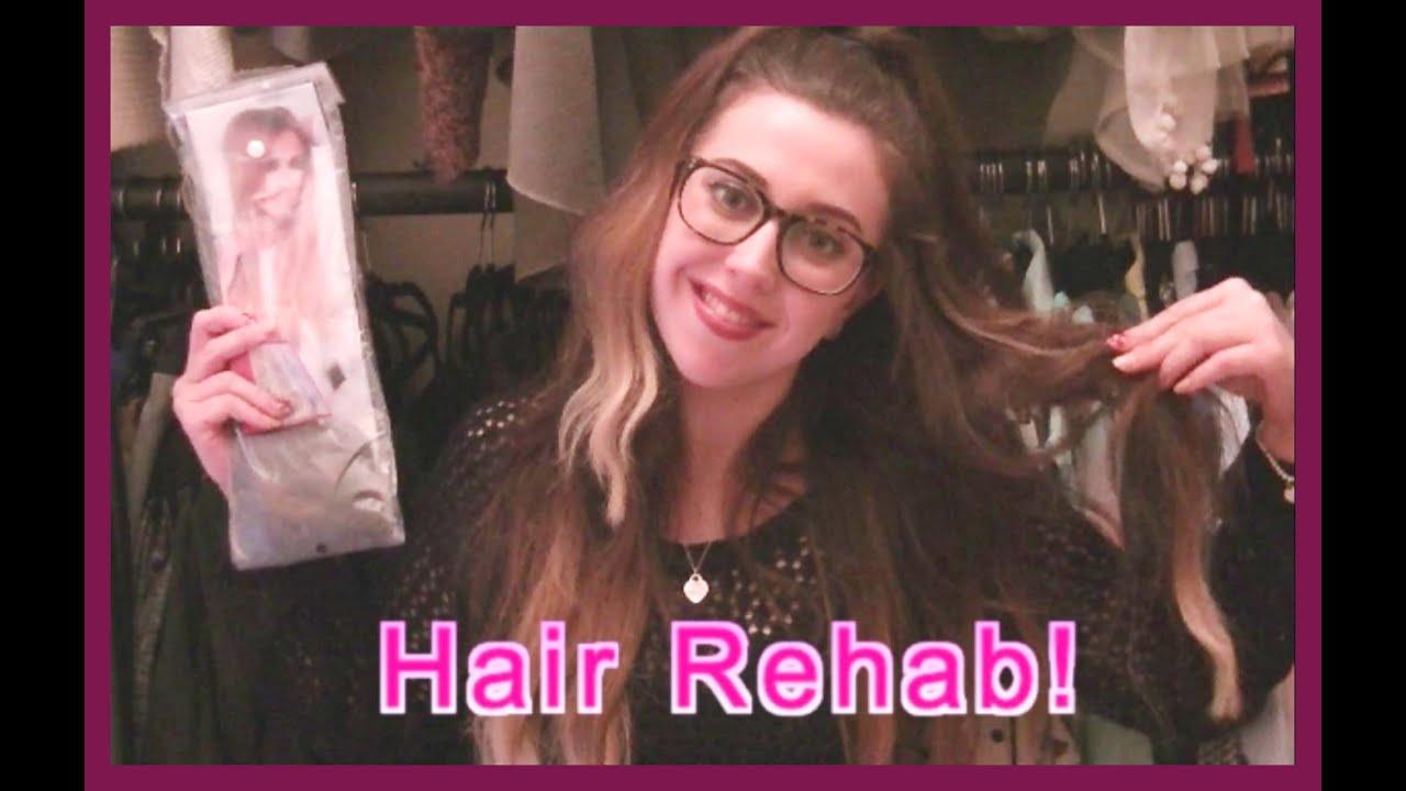 Lauren Pope Hair Rehab London Ombre Brown Blonde 22 Long Hair
