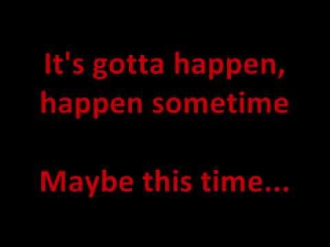 """Maybe This Time"" from Cabaret karaoke/instrumental"