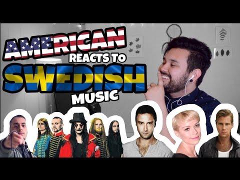 American REACTS // Swedish Music