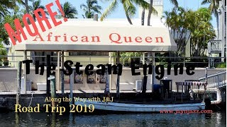 ⚓The African Queen - Steam Engine - Steam Boat - Key Largo Florida 🌴