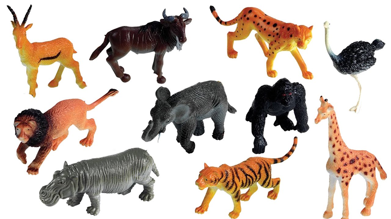 Fun Time Play Animal Toys For Kids Video Animals Toys For