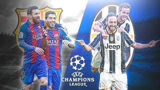 BARCELONA VS JUVENTUS CHAMPIONS LEAGUE ANALISIS
