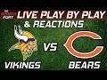 Vikings vs Bears | Live Play-By-Play & Reactions