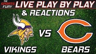 Vikings vs Bears | Live Play-By-Play & Reactions