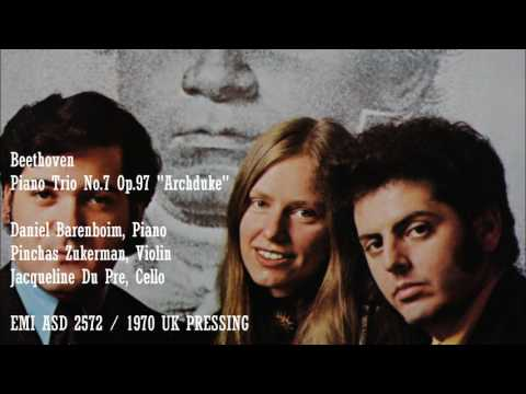 Beethoven, Piano Trio No 7 Op 97 ArchdukeDaniel Barenboim, Zukerman, Du Pre
