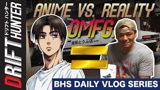 I Met The Real Life Initial D Takumi Fujiwara (not clickbait) | Drift Hunter BHS Daily Vlogs #2