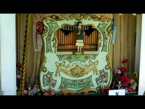 nursery tunes playing on alan pell pipe organ,on tour