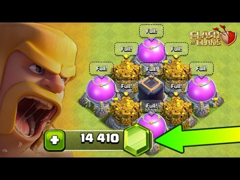 Clash Of Clans | HOW FAR CAN 14,000 GEMS GO? ($100.00) | Gem Spree!