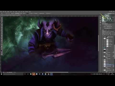 Dota 2 Riki Wallpaper Speed Art By Fluffy