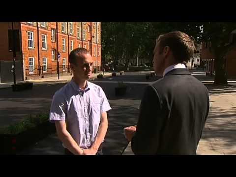 ITV News London - Royal College Street report 20/8/13