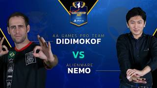 SFV: AA | DidiMokof vs. AW | Nemo - Capcom Cup 2017 - CPT2017
