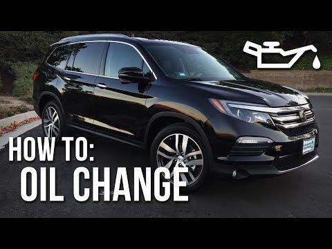 2016 Honda Pilot (Touring) - OIL CHANGE
