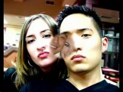 Asian White couples couple sex scene blowjob girls guy strip