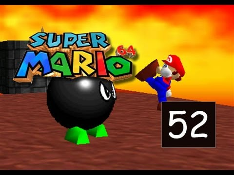 Super Mario 64 - Lethal Lava Land - Boil The Big Bully - 52/120