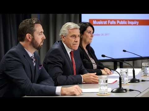 Muskrat Falls Project news conference