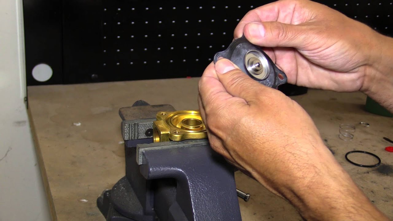 How To Repair An Asco Solenoid Valve Youtube