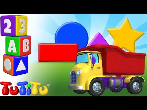 TuTiTu Preschool | Learning Shapes for Babies and Toddlers | Truck