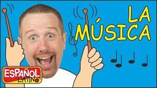 los-instrumentos-musicales-para-nios-canciones-infantiles-aprender-con-steve-and-maggie