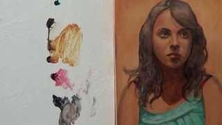 Pintar con veladuras 3. Retrato. Técnica grandes maestros. Curso de pintura.