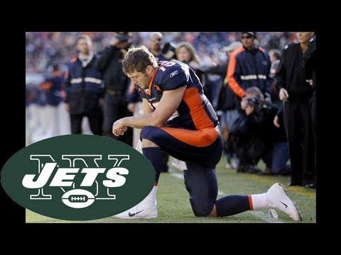 New York Jets, Denver Broncos agree to Tim Tebow trade