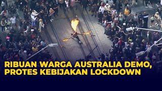 Download Ribuan Warga Australia Demo, Protes Kebijakan Lockdown