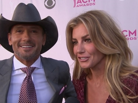 Hill and McGraw's 20 year love affair with ACM Awards