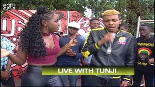Tunji Performs His Latest Jam Exclussively On Ebru TV