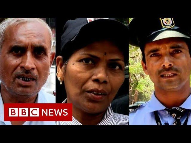 India's security guards take on 'watchman Narendra Modi' - BBC News