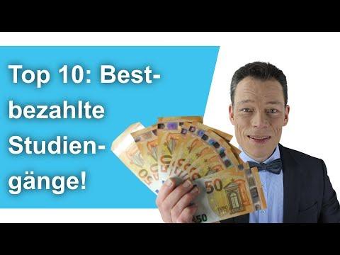 Bestbezahlte Studiengänge: Top 10 Studiengänge mit bester finanzieller Aussicht // M. Wehrle